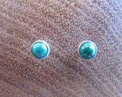 exclusieve zilveren oorstekers malachiet